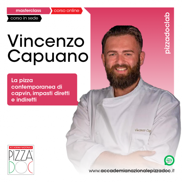 Vincenzo Capuano - Accademia Nazionale Pizza DOC