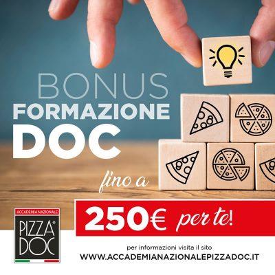 bonus - formazione - doc - accademia - nazionale - pizza - doc